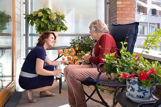Zorg aanvragen voor ouderen