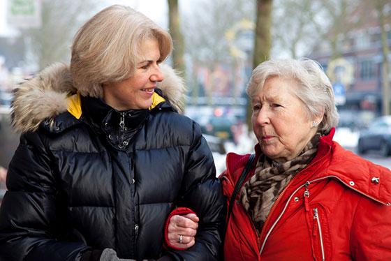 Ondersteuning bij dementie van Onze Saas. Saar aan Huis levert aanvullende mantelzorg op maat.