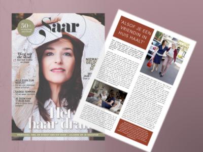 Saar Magazine artikel